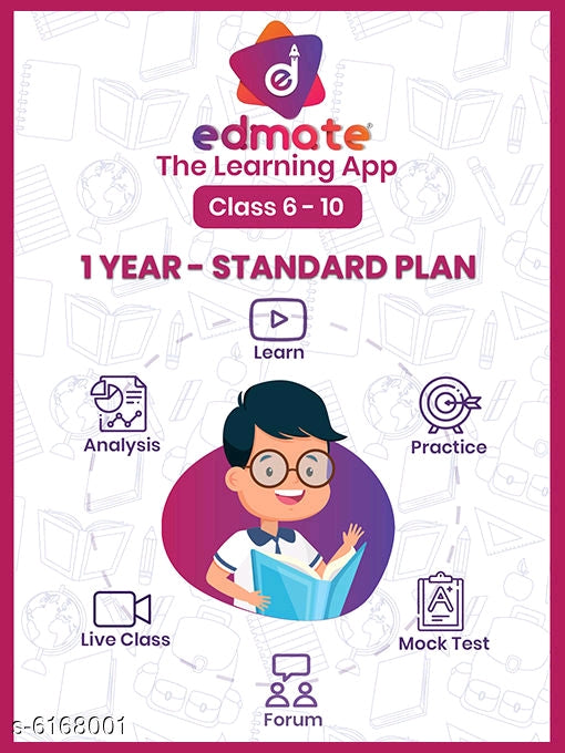 1 year - Standard Plan - Classes 6 to 10 Edmate