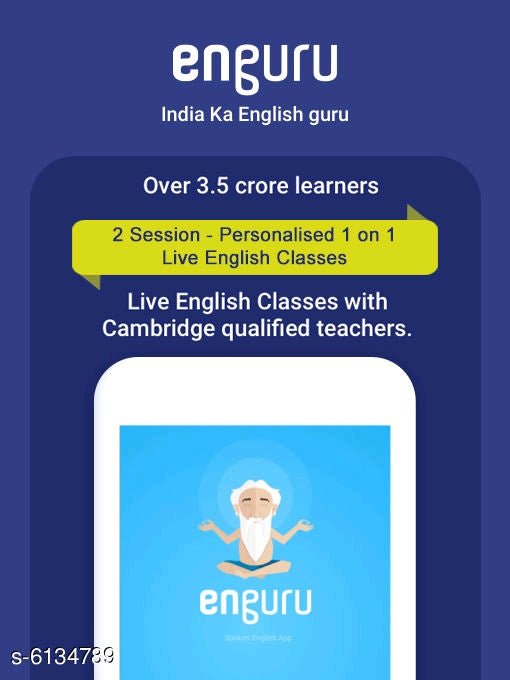 2 Session - personalised 1 on 1 Live English Classes