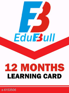 12 Months - Edubull Learning Card