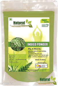 Natural Health And Herbal Products Indigo Powder 227 Gram Pack of 1