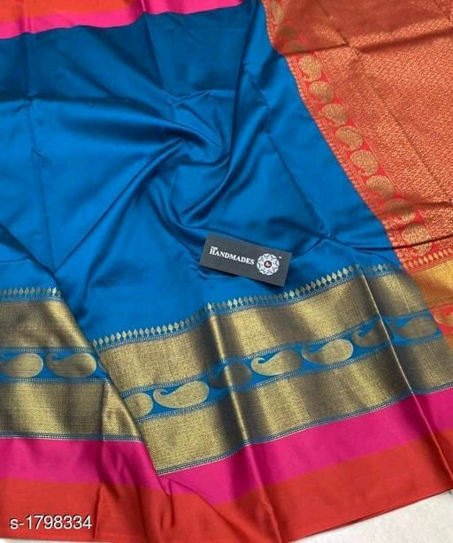 Mahika Attractive Sana Silk Women's Sarees Vol 5