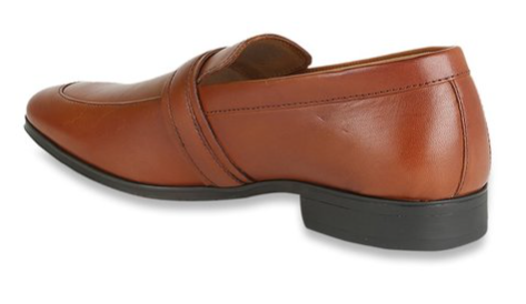 Louis Philippe Tan Formal Loafers