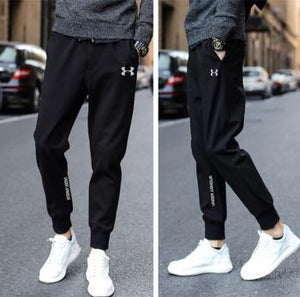 Under Armour Black Lycra DryFit Trackpants