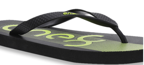 Puma One8 FF GU IDP Black & Lime Punch Flip Flops
