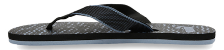 Puma Monk GU 2 IDP Black & Faded Denim Flip Flops