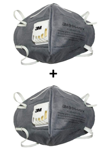 OSFT Anti Pollution Mask Pack of 2 N95 Mask