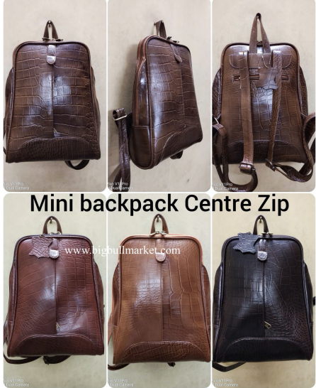 Mini BackPack Center Zip