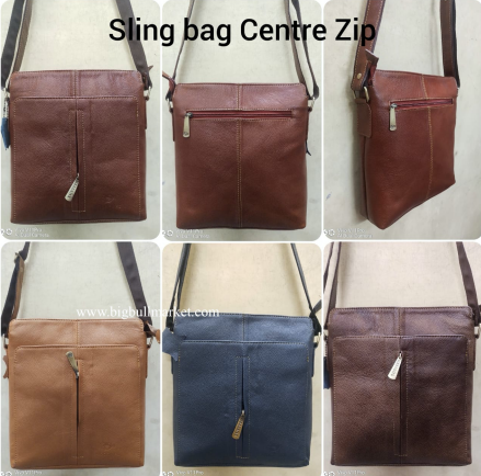 Slimg Bag Center Zip