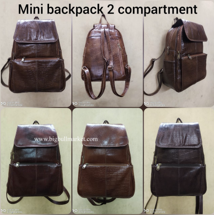 Mini BackPack 2 Compartment