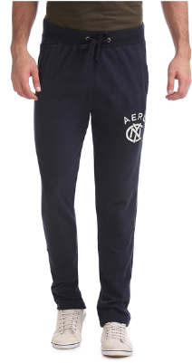 Aeropostale Navy Cotton Trackpants