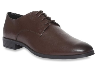 Arrow Grays Brown Derby Shoes