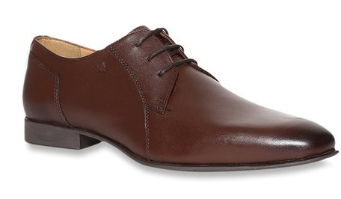 Arrow Mill Brown Derby Shoes