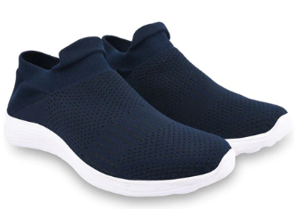 Slip-On Mid-Top Sports Shoes