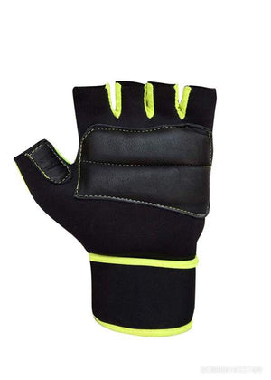 Gloves/Fitness Gloves/Stretchable Size for Both Men and Women (Green, Free Size)*