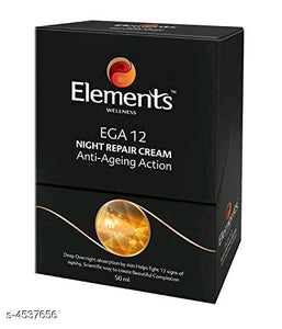 Elements Face Night Repair Cream Vol 1