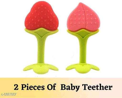 Essential Silicone Baby Teether Vol 1