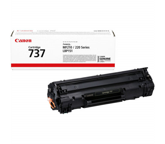 Canon Toner Black Cartridge 737