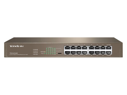 Tenda 16-Port Gigabit Rack Mount Switch TE-TEG1016D