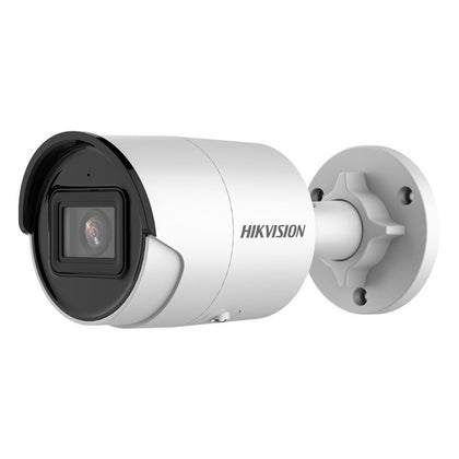 Hikvision 4MP AcuSense Strobe Light and Audible Warning Fixed Mini Bullet Network Camera DS-2CD2046G2-IU/SL