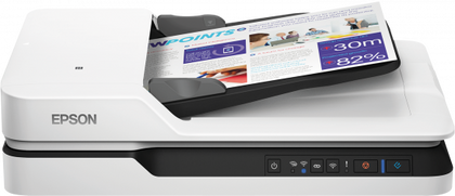 Epson DS-1660W Affordable Wi-Fi Flatbed