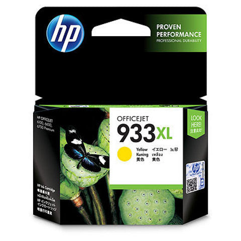 HP 933XL Yellow Officejet Ink Cartridge CN056AE