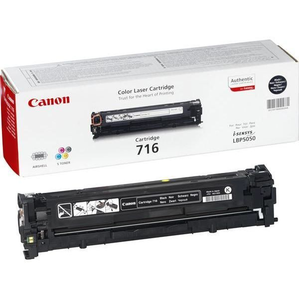 Canon Toner Yellow Cartridge 716Y