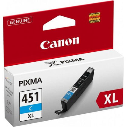 Canon Ink Cyan CLI451XL-C-Blister