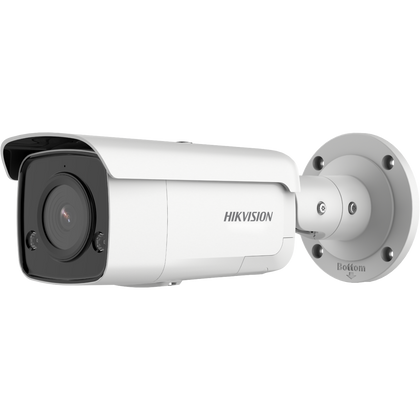 Hikvision 2 MP AcuSense Strobe Light and Audible Warning Fixed Bullet Network Camera DS-2CD2T26G2-ISU/SL