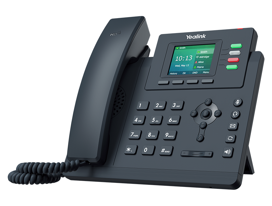 Yealink Gigabit Colour Screen Desktop IP Phone, excludes PSU Y-SIP-T33G