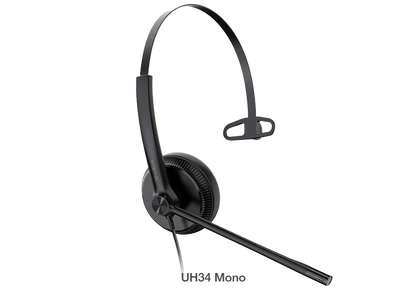 Yealink Stereo USB Headset Y-UH34-Mono