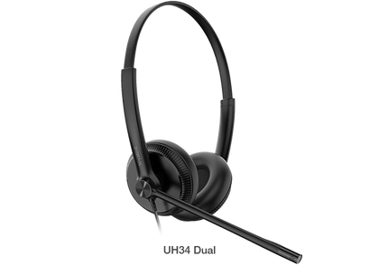 Yealink Stereo USB Headset Y-UH34-Duo