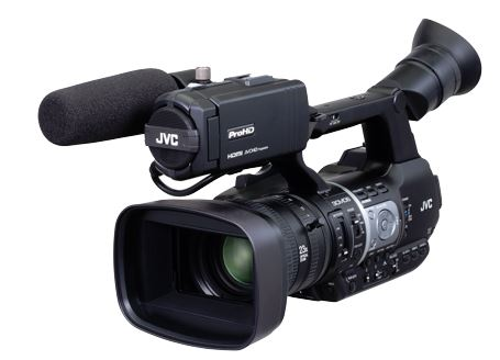 JVC GY-HM620E Handheld Camcorder 23X Zoom lens