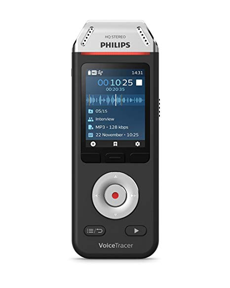 Philips DVT2110 for Interviews and Notes