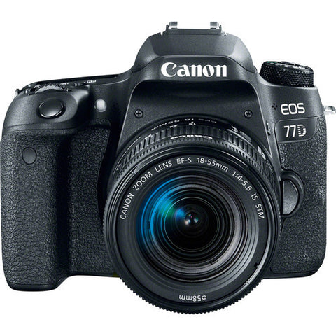 Canon EOS 77D & 18-55 IS STM Kit,- Avico