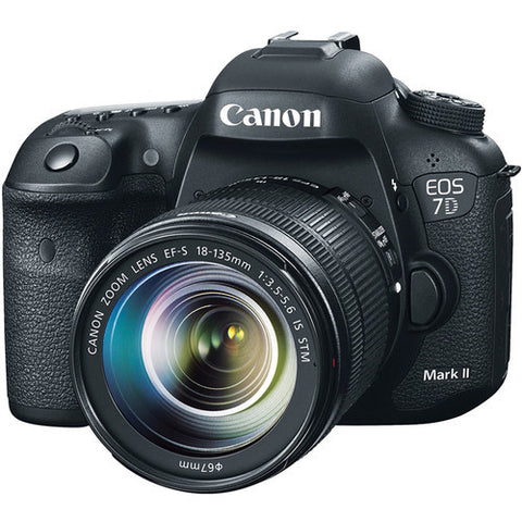 Canon EOS 7D Mk II & 18-135mm IS USM Lens Kit