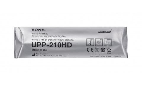 Sony UPP-210HD A4 High Density Thermal Paper Minimum order qty 10 rolls,- Avico