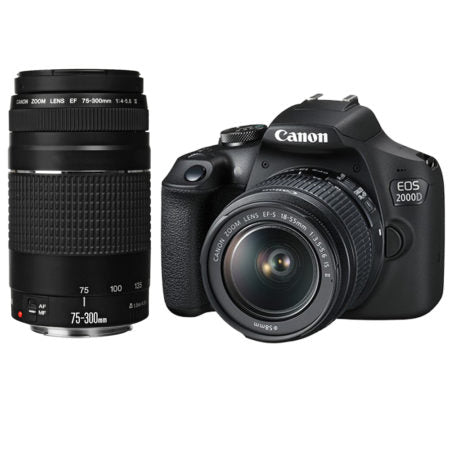 Canon 2000D Double DC Kit