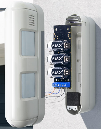 Ajax Transmitter Wireless Module for Connection of Outdoor Ajax Systems SW427