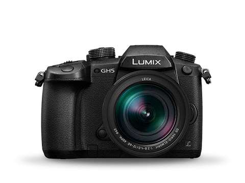 Panasonic - DC-GH5LGA with 12-60mm lens