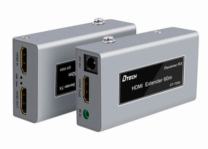 Dtech DT-7053 HDMI Single Cat5e/6 Extender 60m,- Avico