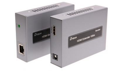 Dtech DT-7054B HDMI Extender 100m with IR,- Avico
