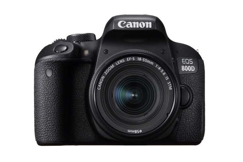 Canon 800D & 18-55 IS STM Lens Kit