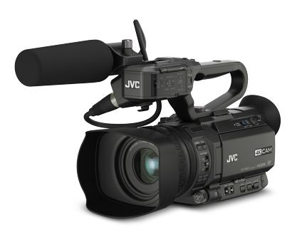 JVC GY-HM250ESB 4K/HD SDI Camera with Sports Graphics Overlay
