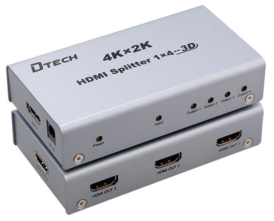 Dtech 4K 1 TO 4 HDMI SPLITTER DT-7144