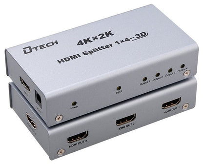 Dtech 4K 1 TO 4 HDMI SPLITTER DT-7144,- Avico