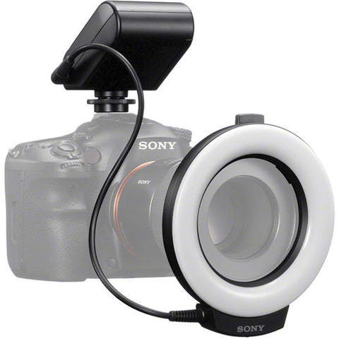 Sony HVL-RLAM ring light for a 49/55mm lens