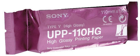 Sony UPP-110HG High Glossy Thermal Paper Minimum order qty 10 rolls,- Avico
