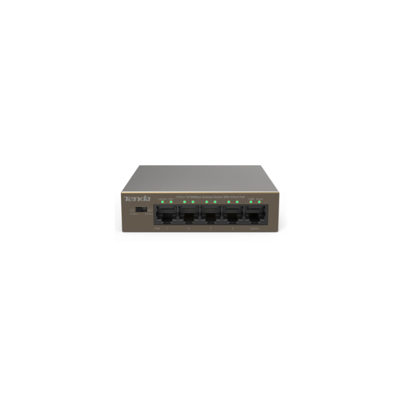 Tenda 4 Port POE Switch IP-ST5POE4