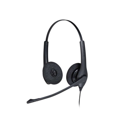 Jabra Stereo Wired QD Headset J-BIZ-1500-DUO
