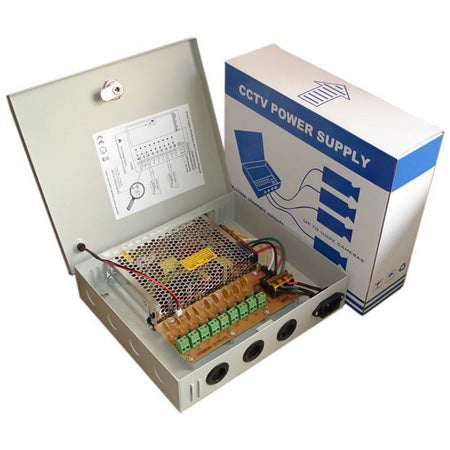 Mulview 10 Amp 12VDC Power Supply MPS-145-18A,- Avico